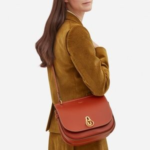 05932f1711ff Mulberry Bags - Mulberry Rust Amberley Leather Crossbody Bag